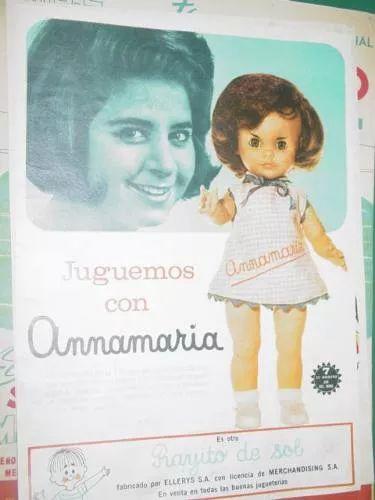 muñeca annamaria rayito de sol
