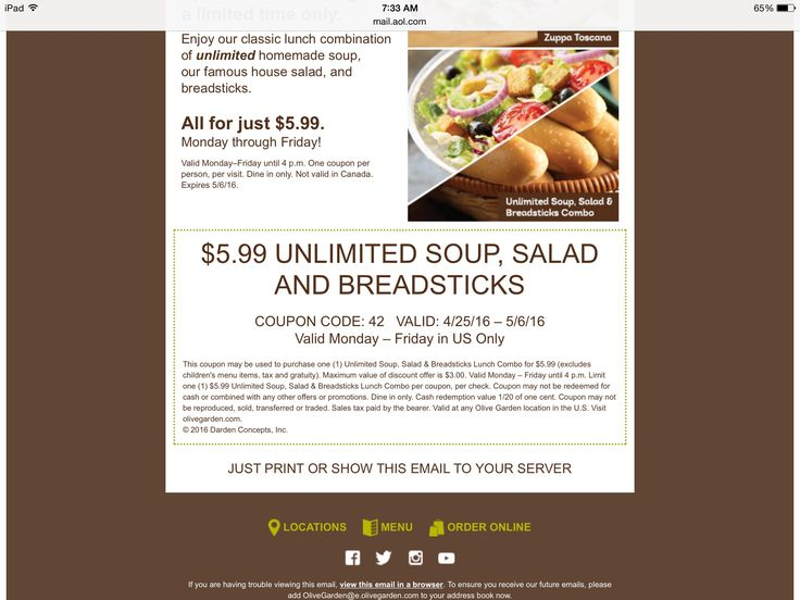 25 Best Ideas About Olive Garden Lunch Coupons On Pinterest Olive Garden Coupons Ravioli