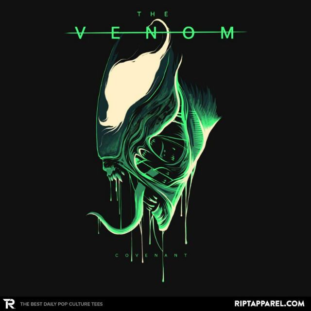 Venomous Covenant T-Shirt - Venom T-Shirt is $13 today at Ript!