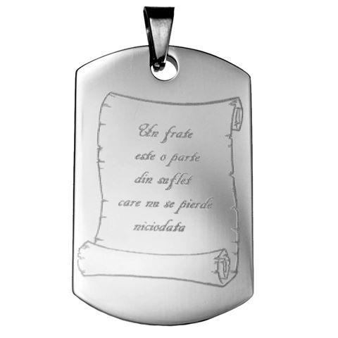 Cadouri speciale pentru cei dragi tie <3 <3   Pandantivul il poti personaliza fata/verso cu mesaj sau poza, si il poti comanda online, accesand link-ul de produs: https://www.cadouripersonale.ro/Pandantiv-inox-pentru-gravura-22x36cm-p-16798-c-379-p.html sau telefonic la 0372 711 711   #cadouripersonale #cadouripersonalizate #bijuteriigravate #bijuteriipersonalizate #cadouribarbati