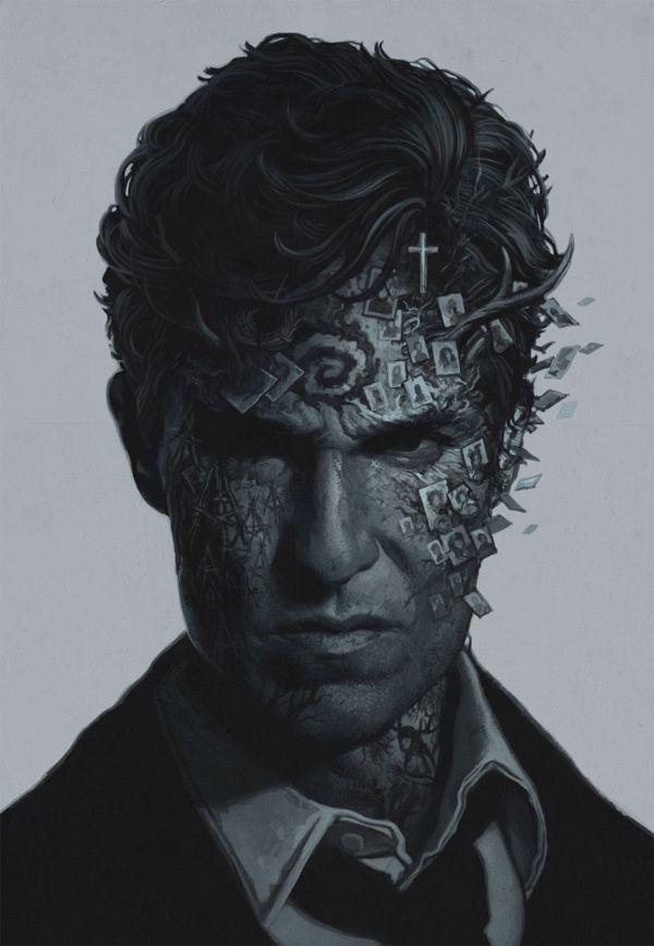 True Detective poster by Yuri Shwedoff