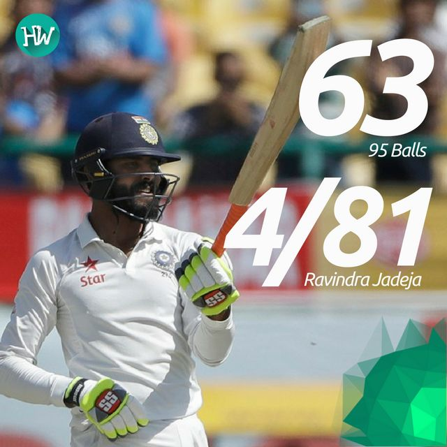Man of the Match was none other than Sir Jadeja for his perfect all-round performance! #INDvAUS #IND #AUS #cricket