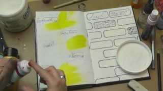 Ronda Palazzari - Introduction to Art Journaling
