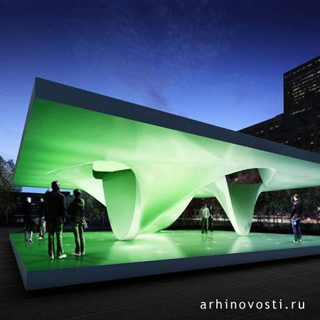 Архитектурное бюро ЮНСтудио (UNStudio) представило публике концепцию дизайна временного павильона для парка Миллениум (Millennium Park) в Чикаго. Эта структура, а также еще один павильон, который построит Заха Хадид (Zaha Hadid), будут доступны посетителям парка с 19-го июня по 31-е...