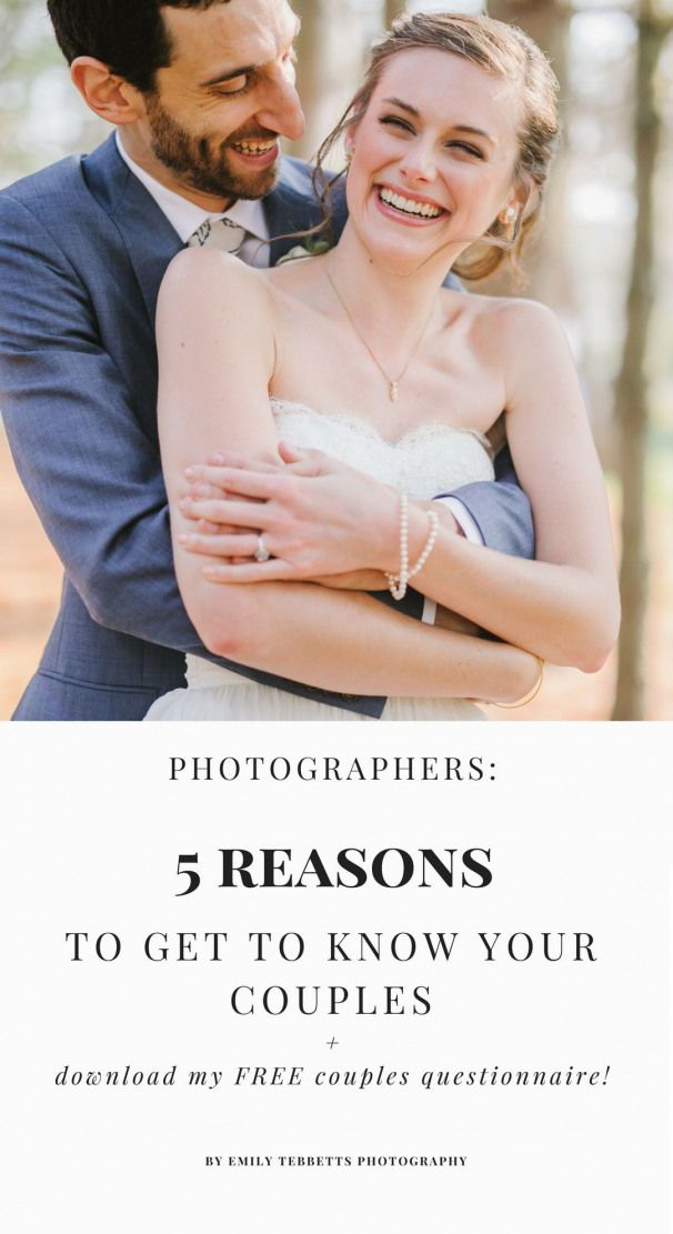Getting to know your couples as a wedding photographer is so important and benef…