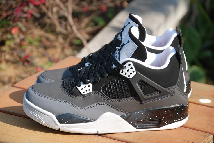 air jordan retro 4 grise