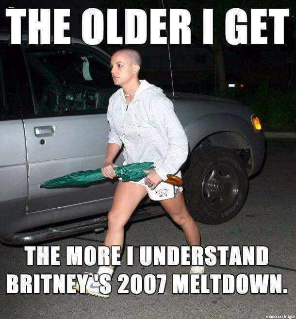 Meltdown Status 2007 Britney