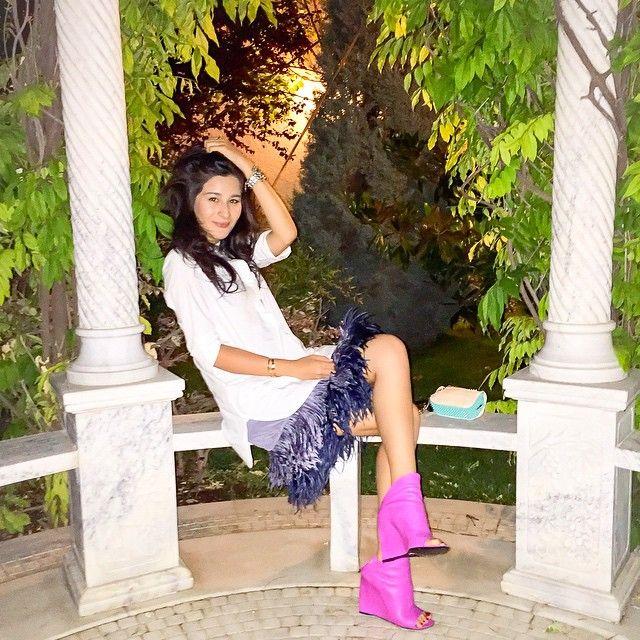 Английская мода носить ботиночки летом мимо меня не прошла  #tb #lastnight #Balenciaga @2505store @cosstores @balenciaga by ganyausman