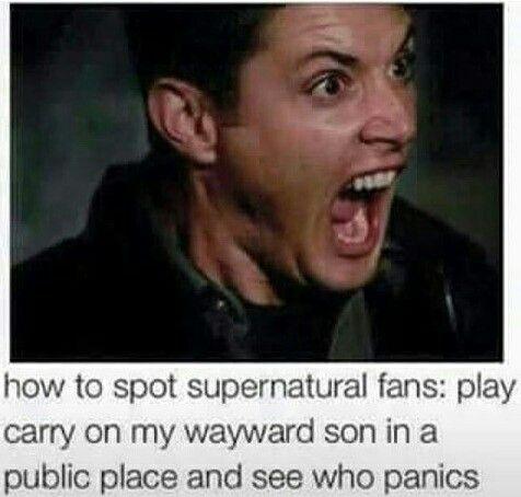 Supernatural MEMES                                                       …