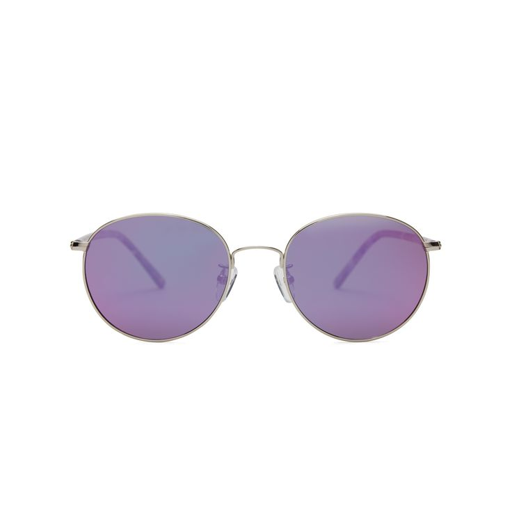 518eefc460 Paint the town purple in our Rana Electric Violet Elevated Fit® sunglasses  by COVRY for women and men. Polarized purple mirror lenses with funky  purple ...
