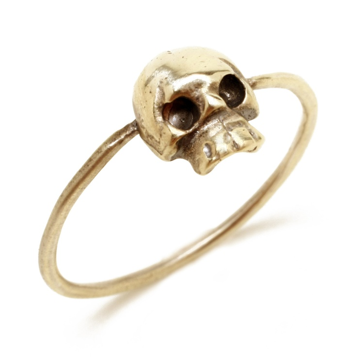 Emily Hirsch | Mini Skull Ring