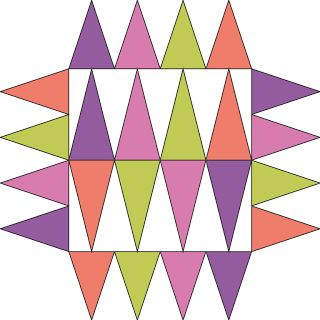 One of my readers has asked me more about drawing triangles so I'm going to write a super-short post to show how I make triangles in Touchdr...