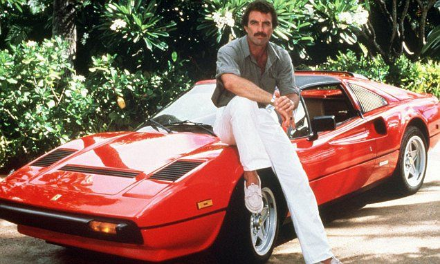 Ferrari 308 driven by Tom Selleck in Magnum PI is for sale at auction