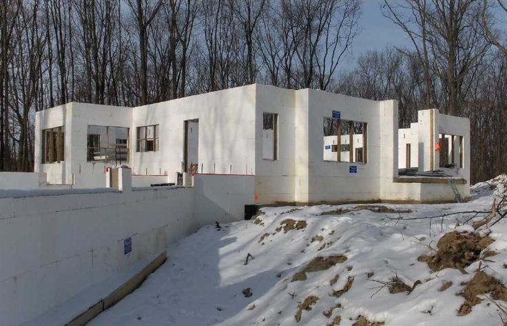 Brilliant ICF Home Plans House Framework Construction Exciting