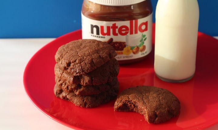 How to make 4 ingredient Nutella biscuits - Kidspot