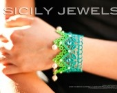 Handmade bracelet, collection Sicily!