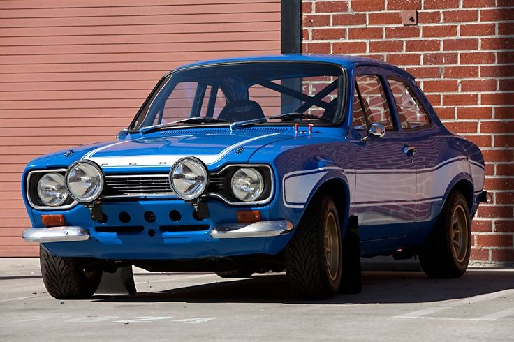 1970 Ford Escort MK IRS1600 from Fast and Furious 6.Driven ...
