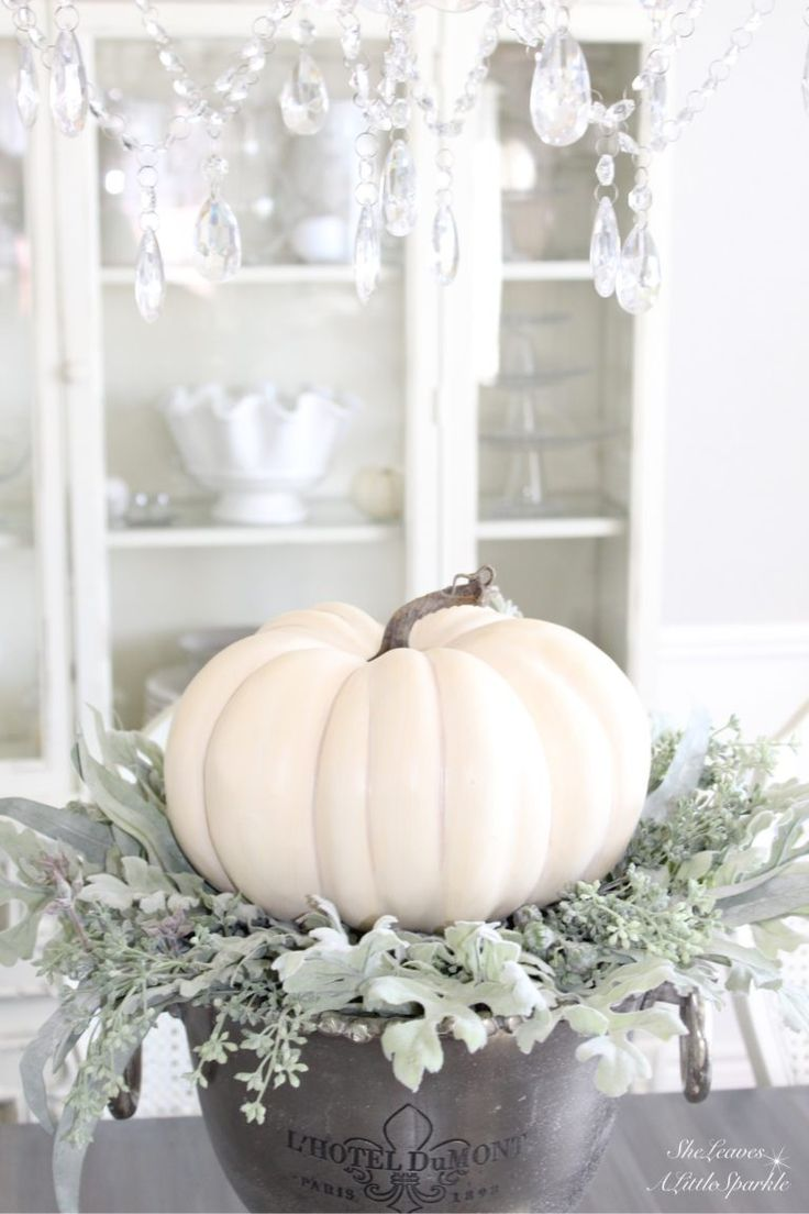 harvest haven fall tour 2016 white faux craft pumpkin michaels