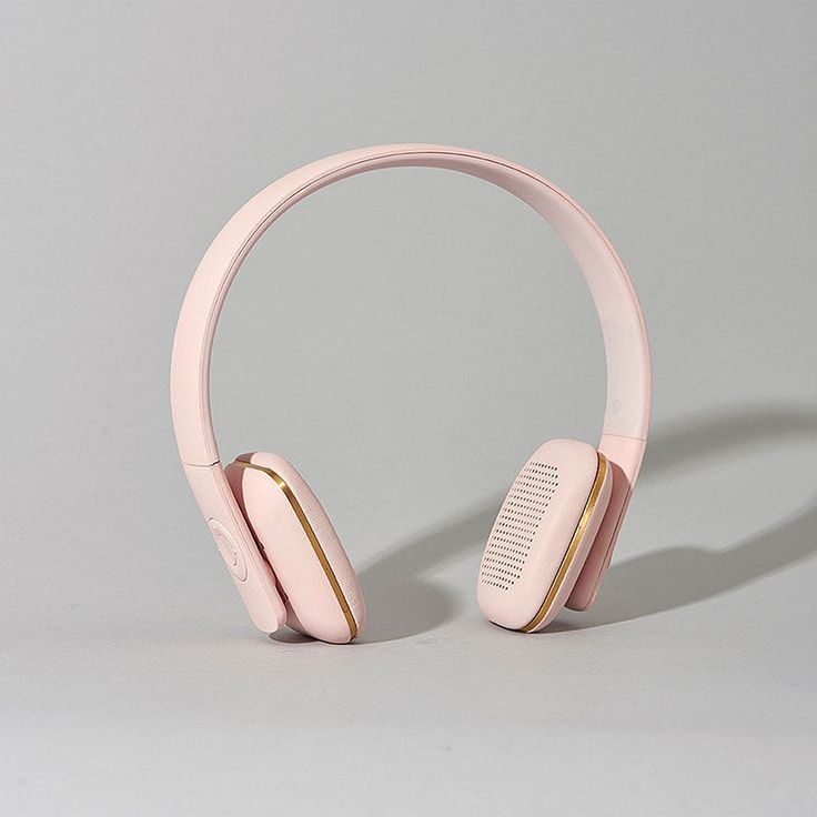 top3 by design - Kreafunk - ahead pink headphone wireless