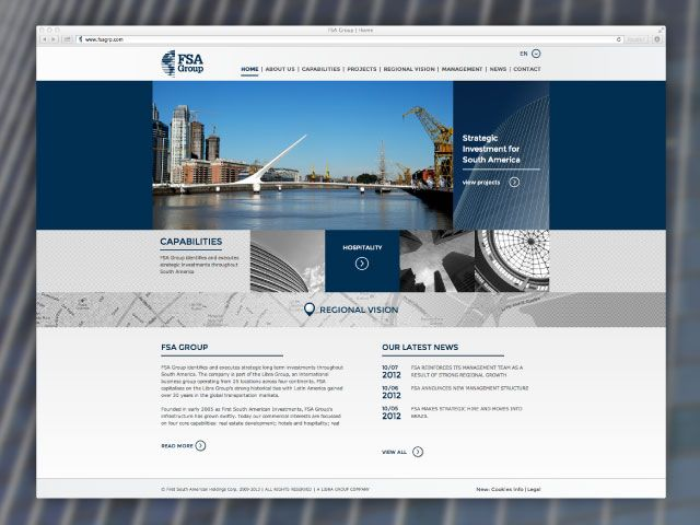 FSA Group Website is now live! | Mozaik Blog