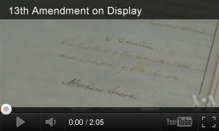 video 13th amendment on display 5th grade pinterest civil wars war and videos. Black Bedroom Furniture Sets. Home Design Ideas