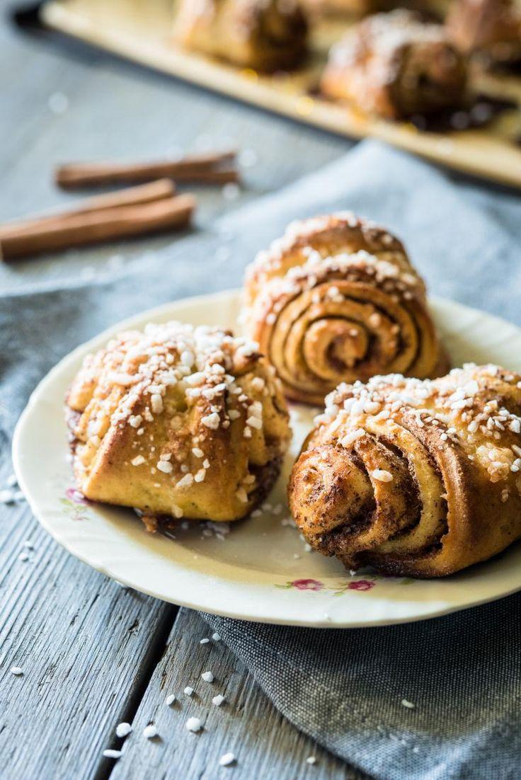 Gluteenittomat korvapuustit // Gluten free Cinnamon Rolls Food & Style Mika Rampa, Perinneruokaa prkl Photo Mika Rampa www.maku.fi