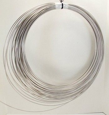 12 Gauge Stainless Steel Wire by the Foot for Making Bird Toys