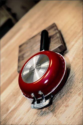 """Cuisinart - 10"""" Frittata Nonstick Skillet Set - Red"""