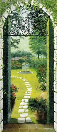 Best 25 door murals ideas on pinterest door stickers for Brewster birch wall mural
