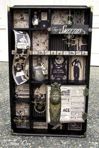 graphic 45 - altered shadow box