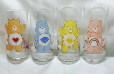 "Pizza Hut ""Care Bears"" glasses"