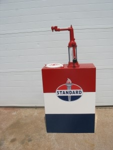 1941 Standard Oil of Indiana Lubester with fresh paint and graphics.  Would make a great addition to any serious collectors garage or man-cave. Click on image to find out how you can own this one.