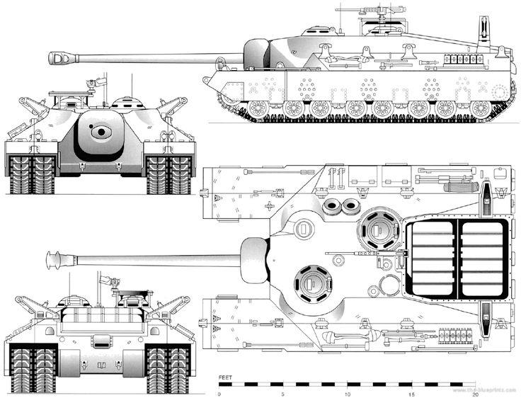 T28 Super Heavy tank - Album on Imgur