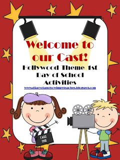 Diary of a Not So Wimpy Teacher: Hollywood Theme First Day of School FREEBIE!!!