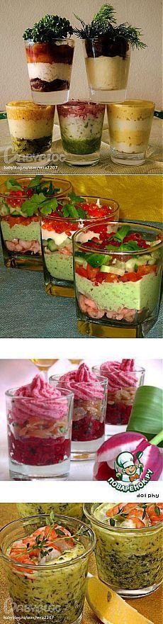 Веррин - салат в стакане (24 примера с фото и ссылками)
