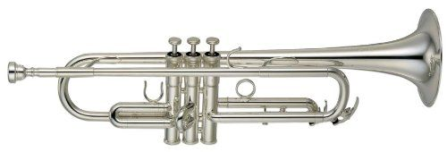 Yamaha YTR-8310ZS Bobby Shew Professional Bb Trumpet, Silver-Plated ** Details can be found by clicking on the image.