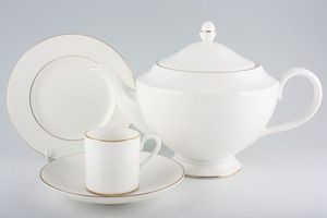 The Teapot, mug and saucer and sandwich plate