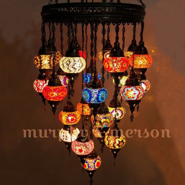 Turkish Mosaic Lamp Moroccan Style 25 Globe Chandeliers Ottoman Hanging Night Lighting Traditional Antique Turkish Mosaic Lamp Mosaic Lamp Globe Ceiling Light