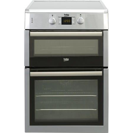 Beko BDVI675NTS 60cm Electric Cooker With Induction Hob - Silver | Appliances Direct