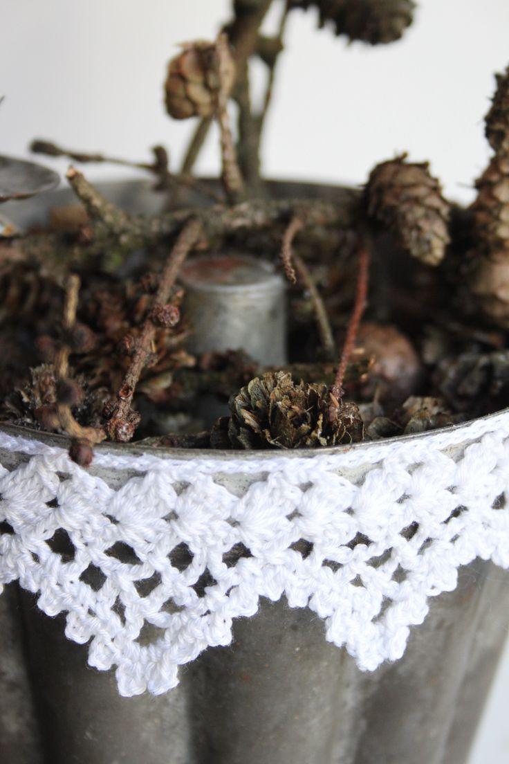Brocante kantje: Gehaakte Randjes Crochet, Haak Ideetjes, Flea Market, Crochet Edgings, Inhaken Op, Bordes Ganchillo, Randjes Crochet Borders, En Kantjes, Hook Ideas