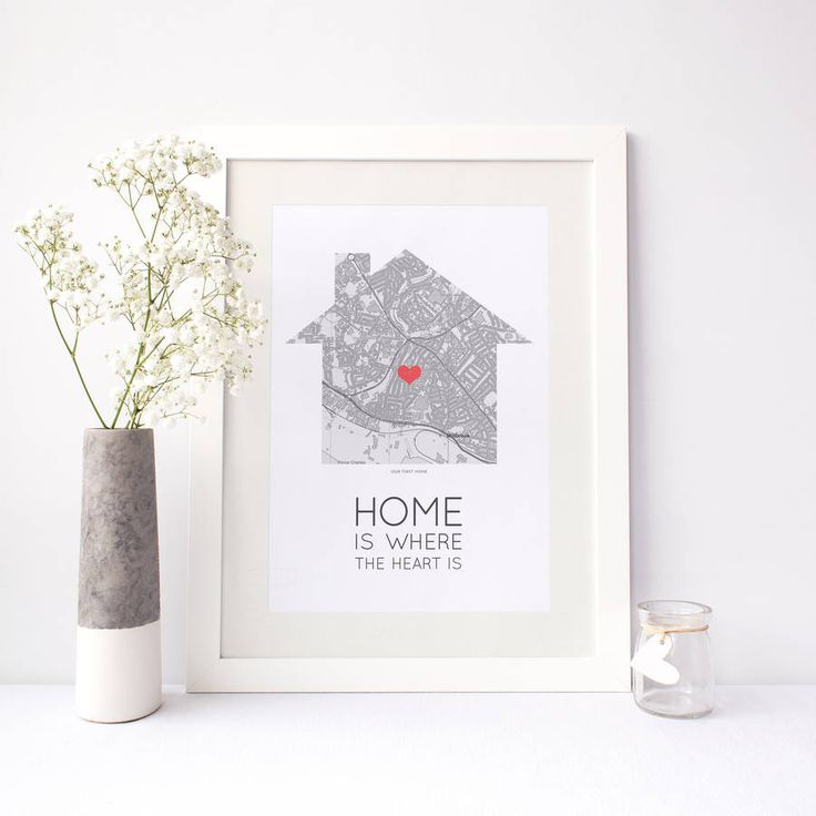 Are you interested in our personalised street map poster? With our address map print heart you need look no further.