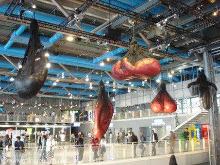 Centre Pompidou| Place Georges Pompidou. Museum & design store inside. (Metro: Rambuteau): Centre Inside, Pompidou Paris Inside Jpg, Architecture History, Centre Pompidou Saw