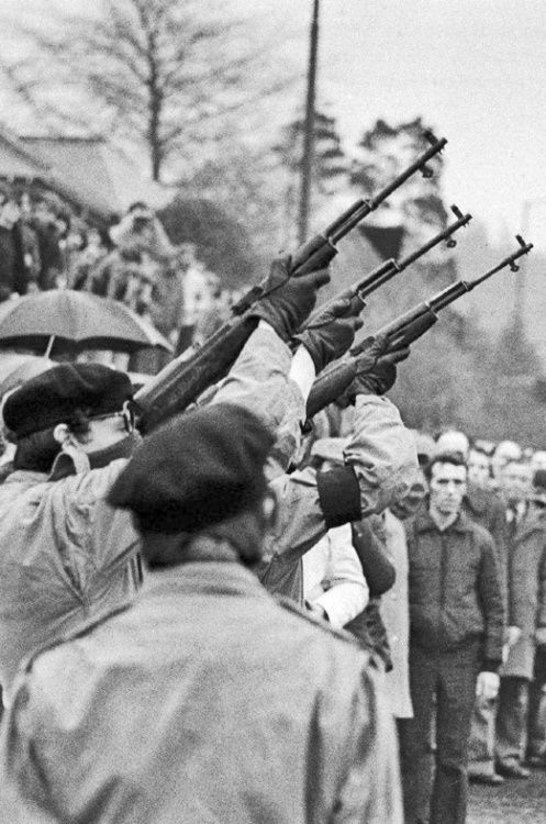 Bobby Sands Funeral 1981.