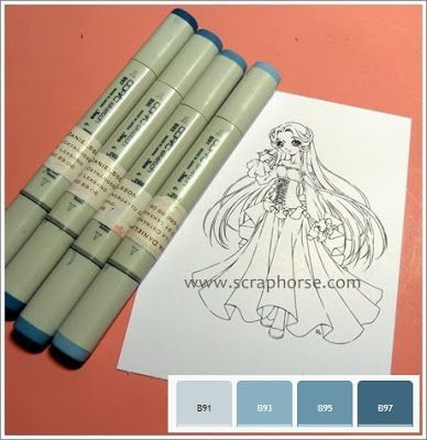 Tutorial on colouring folds... | Copic Marker Europe | Bloglovin'