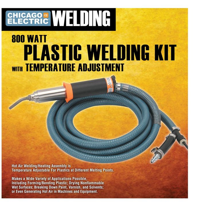 Plastic Welding Kit with Adjustable Temperature