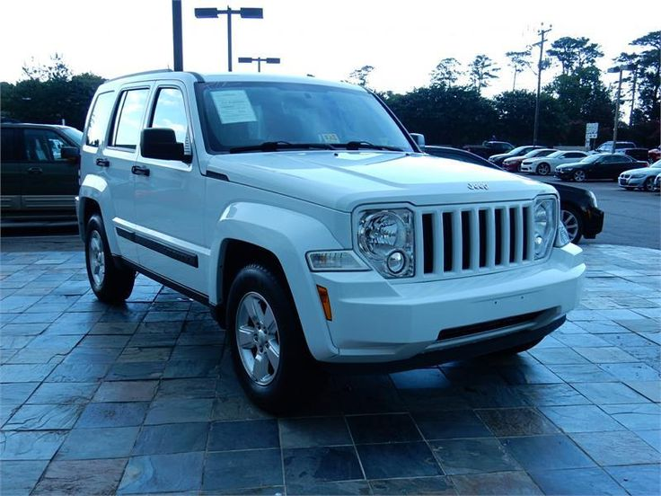 2012 JEEP LIBERTY SPORT  79333 miles, White exterior color with a Dk. Gray interior, 3.7L V6 MPI SOHC 12V Engine, Automatic Transmission, Stock # 14959