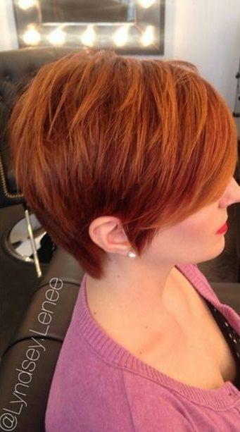 Ein schönes Rot ist nicht hässlich! 11 der schönsten aktuellen Kurzhaarfrisuren … - Neue Frisur
