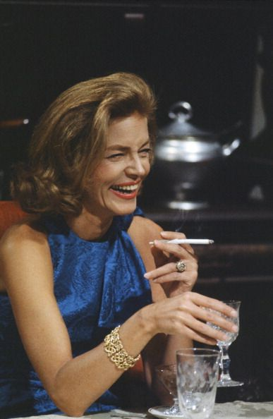 Lauren Bacall ~ Love, love, love Lauren Becall: beautiful, a ball buster and a sense of humor ....... incredible! ~ RIP 12 Aug 14 ~                                                                                                                                                      More