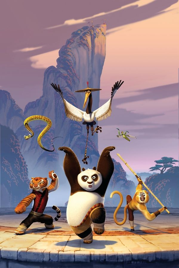Kung Fu Panda & the furious five :)