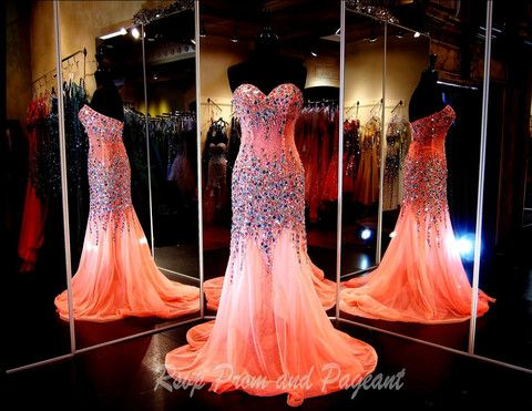 100JC048230515-CORAL - GORGEOUS COLOR prom or pageant dress and Available at Rsvp Prom and Pageant :) http://rsvppromandpageant.net/collections/long-gowns/products/100jc048230515-coral